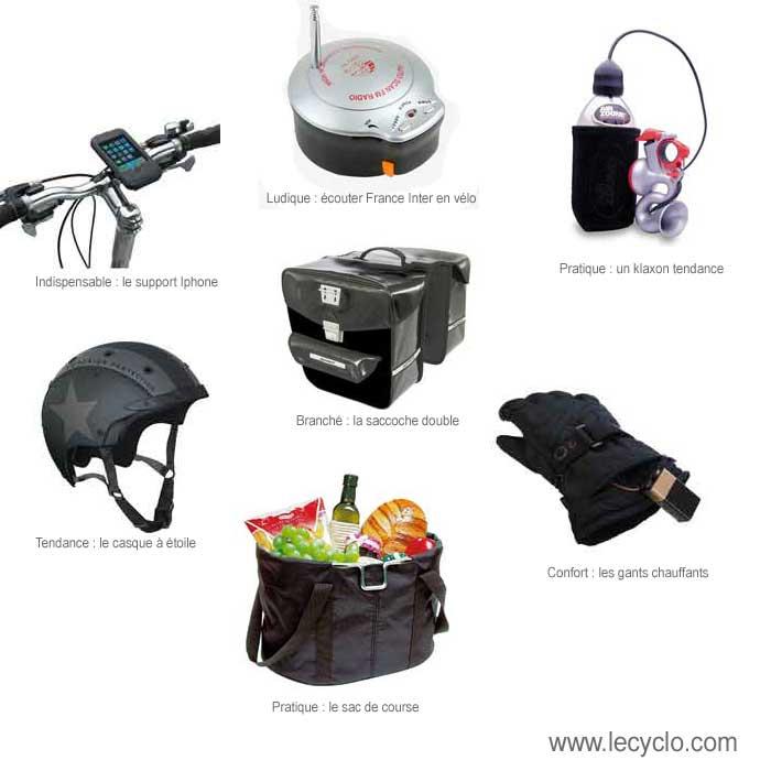 Des idées de cadeaux autour du vélo