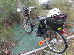 Héloïse, accro au vélo