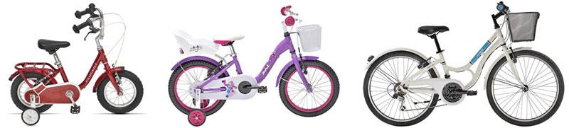 Vélos enfants Peugeot Cycles et Gitane
