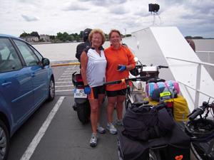 Tours – Guérande : le périple à vélo de Corinne…