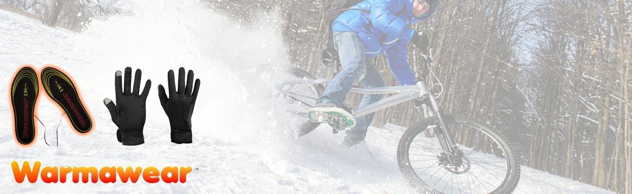 Faire du vélo sans craindre le froid avec Warmawear