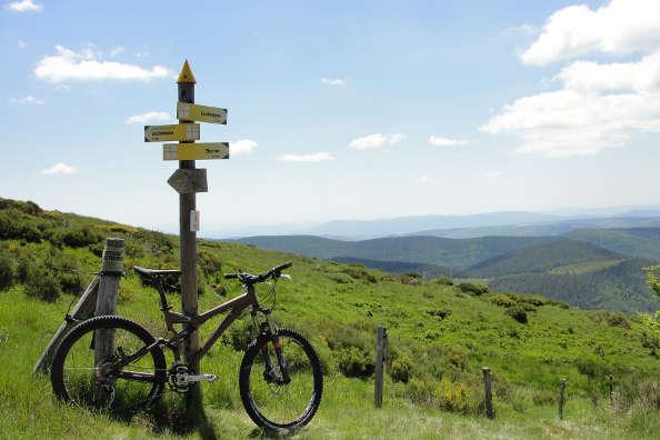 Un petit tour à vélo en Ardèche avec Pascal…