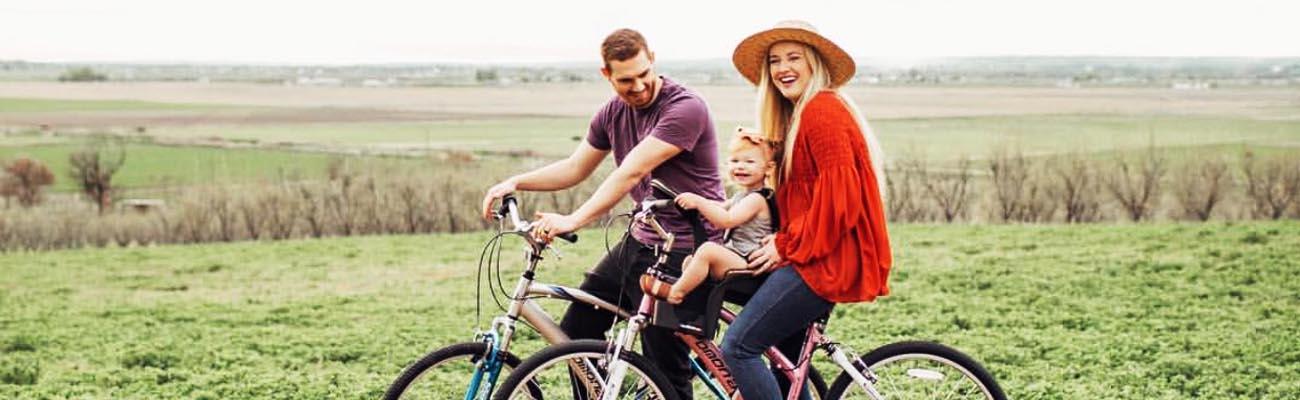En balade à vélo avec le Weeride