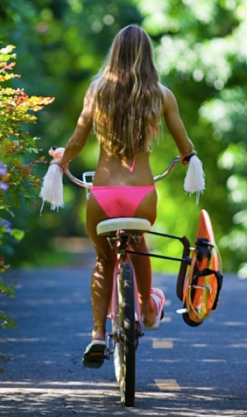 Pour moins transpirer à vélo