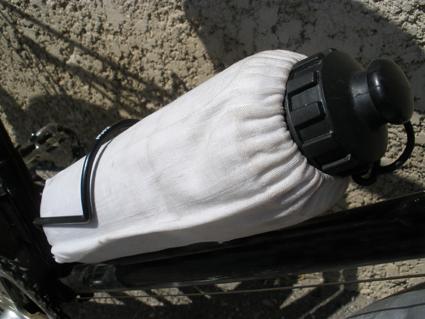 Trucs et astuces : De l'eau toujours fraîche à vélo