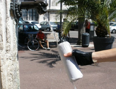 avoir toujours de l'eau fraiche à vélo