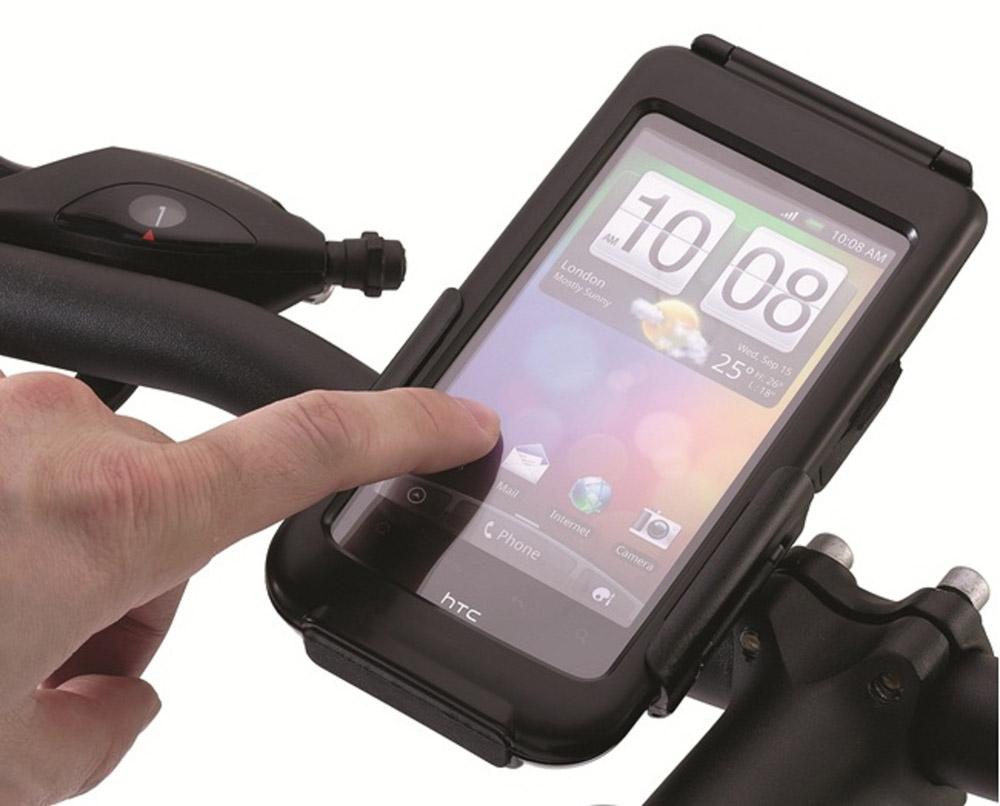 L'accessoire pour être connecté à vélo: La coque pour Smartphone
