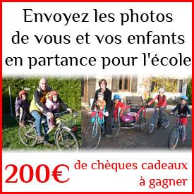 «J'emmène les enfants à l'école à vélo» Le nouveau concours Citycle