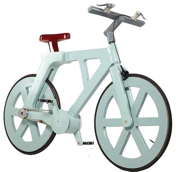 Le vélo en carton: révolution dans le monde du vélo