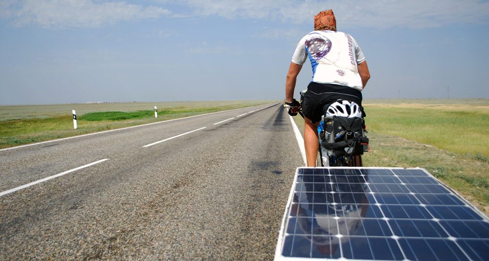 Direction le Japon en vélo solaire