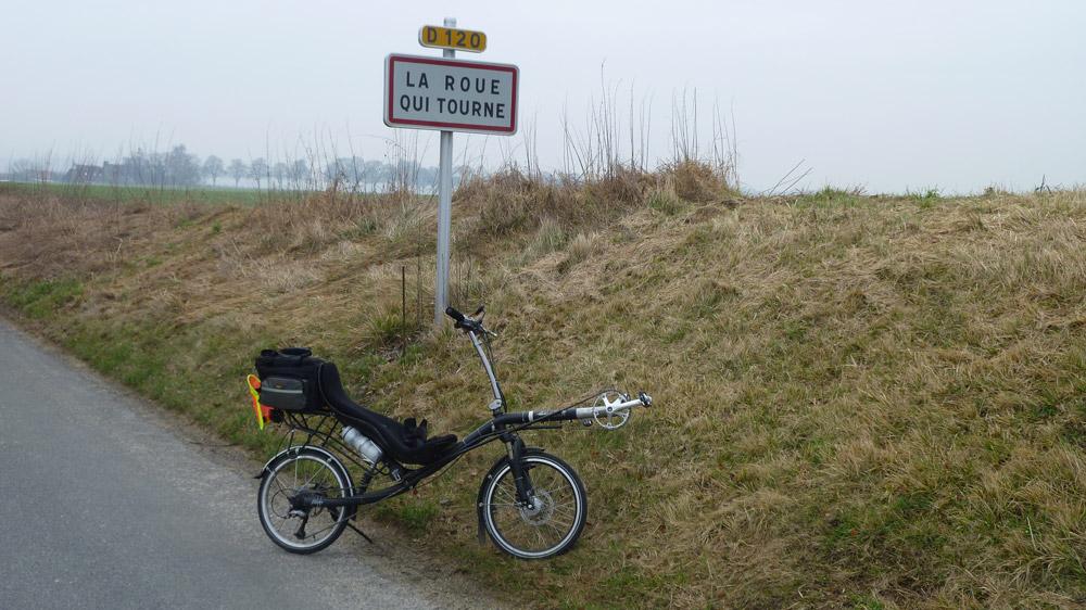 Une balade en vélo a La Roue qui tourne