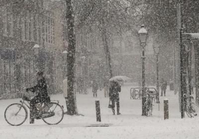 faire du vélo en hiver