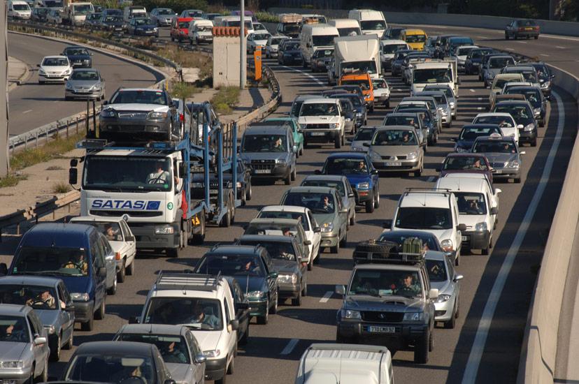 Le classement des villes les plus embouteillées de France