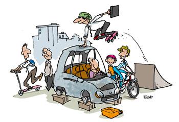 4 projets pour une meilleur mobilité urbaine grâce au vélo