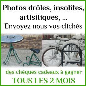 Un nouveau concours bi-mensuel: les photos insolites du vélo