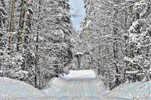 Assurer la conduite du vélo en hiver sur les pistes enneigées
