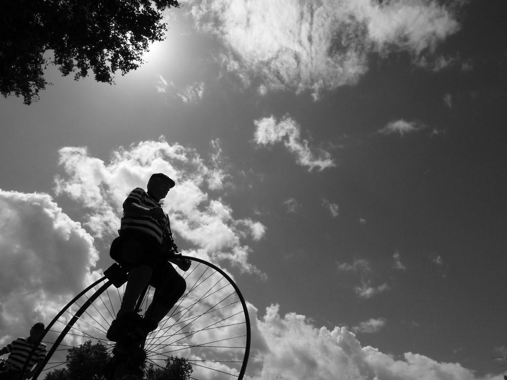 Concours photo « L'insolite dans le vélo »: Balade en grand-bi