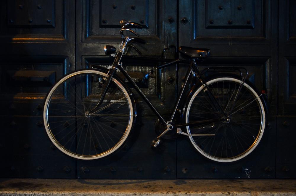 Concours photo « L'insolite dans le vélo »: l'antivol vélo et porte