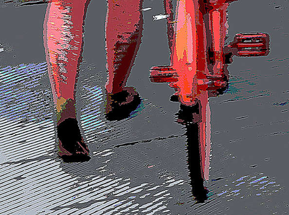 Concours photo «l'insolite dans le vélo»: quand l'art et le vélo se rencontrent