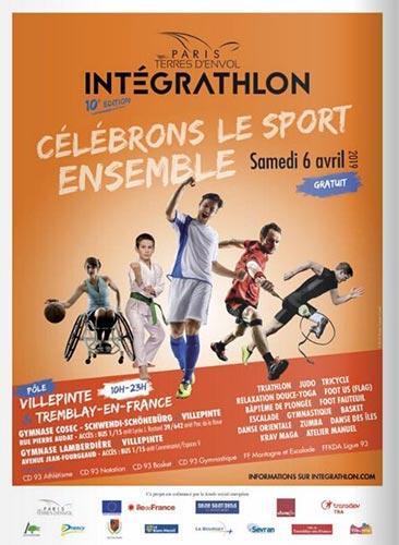 Affiche de l'Intégrathlon 2019