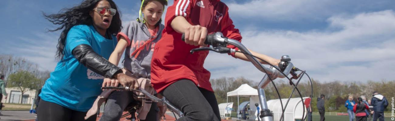 Intégrathlon : faire tomber les barrières du handicap grâce au vélo et au sport