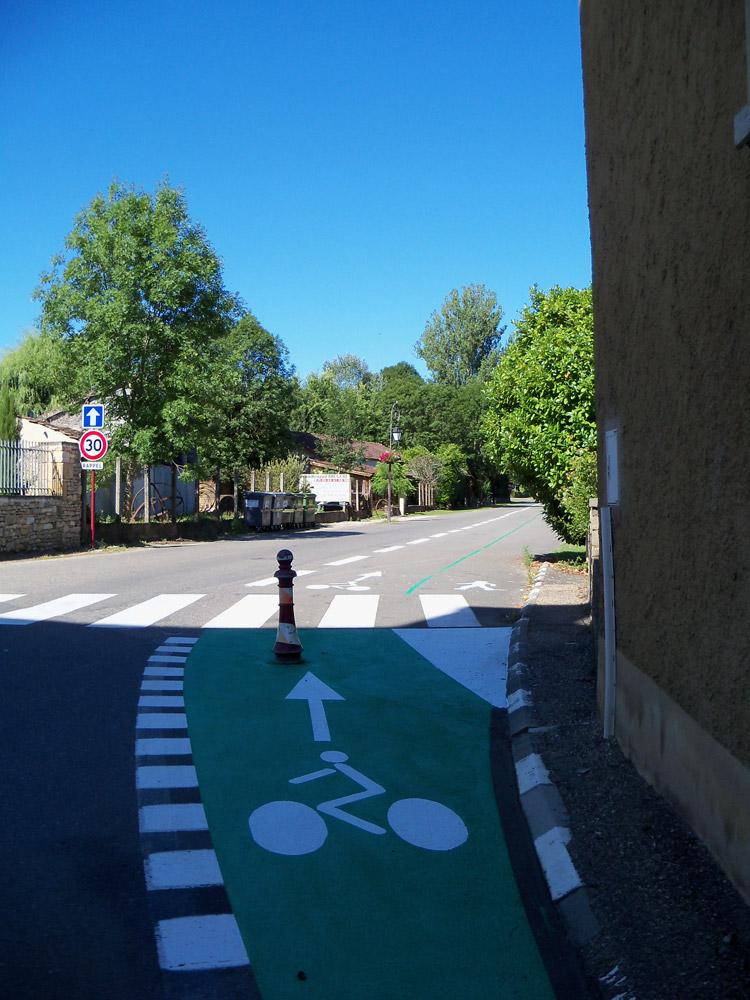 Concours photo « L'insolite dans le vélo » : une piste cyclable presque normale