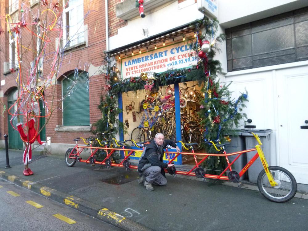 Concours photo « L'insolite dans le vélo » : Le grand huit