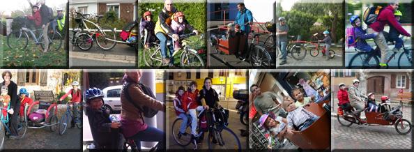 Concours «Emmener ses enfants à l'école en vélo» : Récapitulatif et derniers votes
