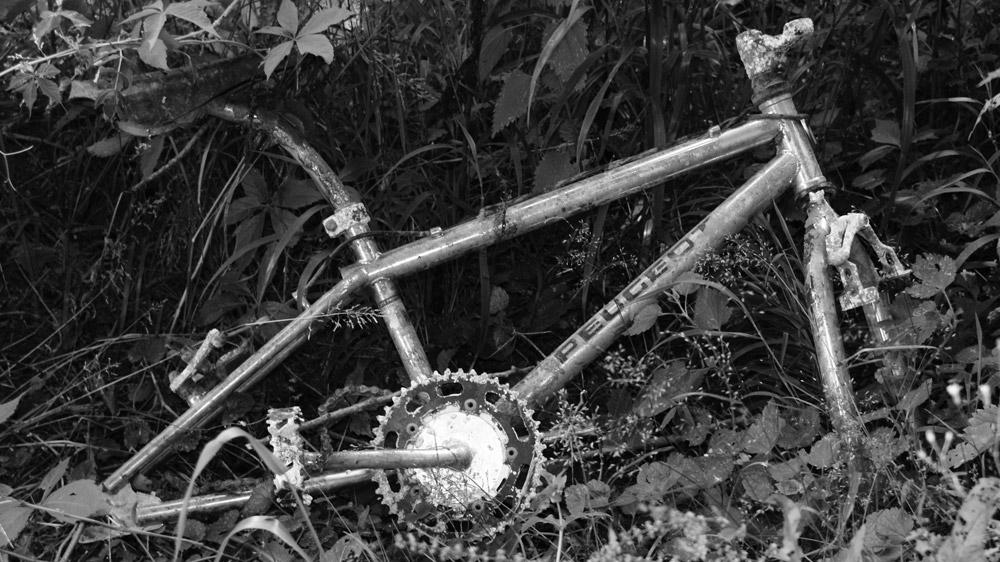 Concours photo « L'insolite dans le vélo » : Le vélo abandonné