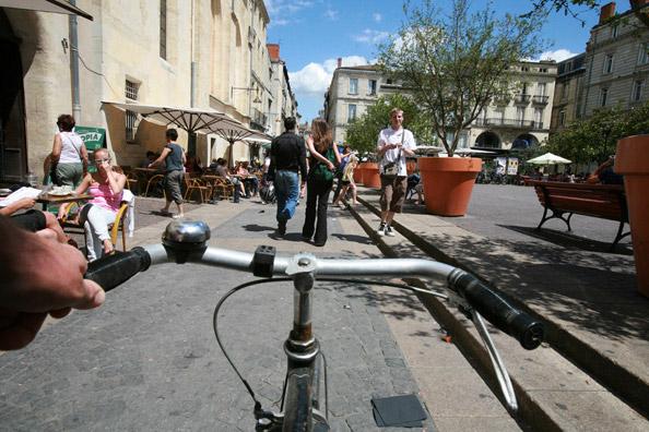 Les ambassadeurs du vélo à Bordeaux