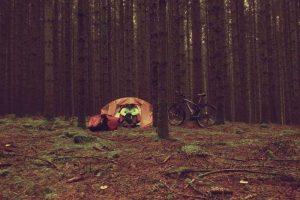 Le camping sauvage est interdit en France