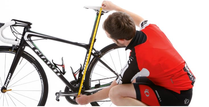 Mesure pour changer sa selle de vélo