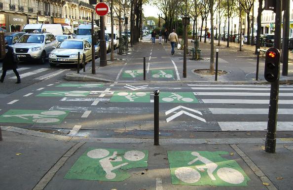 Bien gérer les intersections à vélo