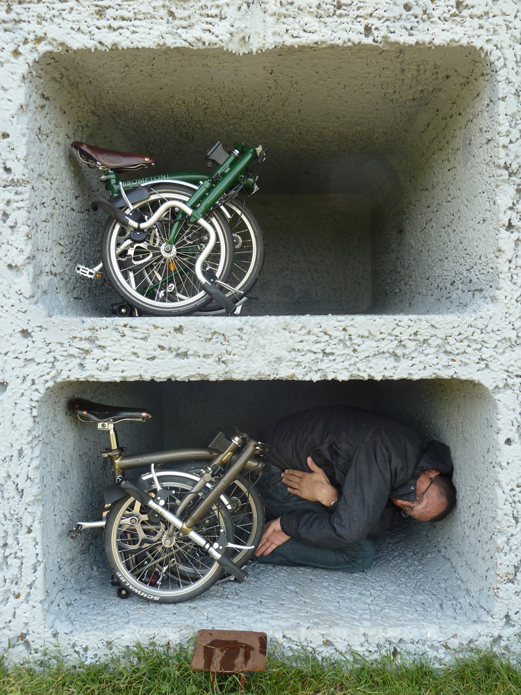 Concours « L'insolite dans le vélo » : La maison du cycliste pliant