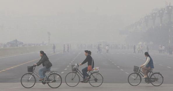 est ce que les cyclistes polluent?