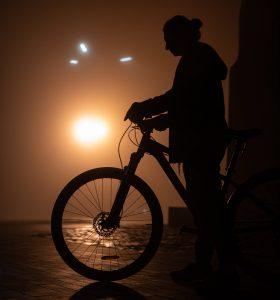 Sécurité à vélo de nuit