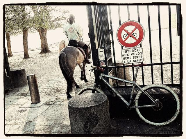 Concours photo « L'insolite dans le vélo » : Interdit aux vélos