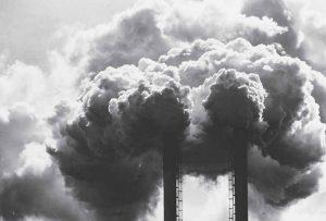 pollution de l'air venant d'usines