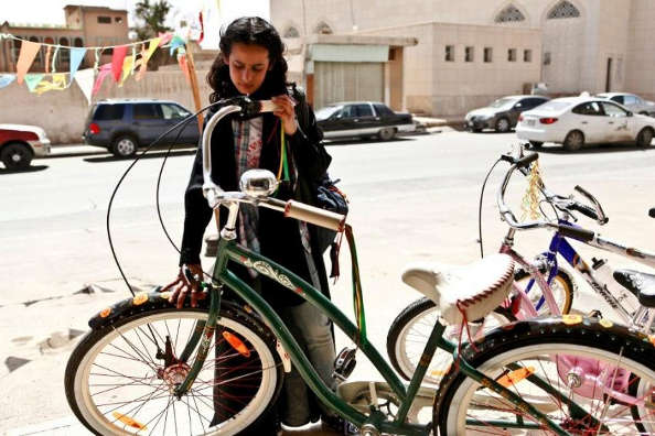 Les saoudiennes ont désormais le droit de faire du vélo