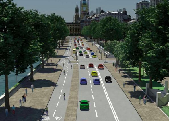 Un plan à 1 milliard de livre pour intégrer le vélo dans la ville de Londres