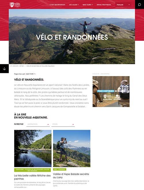 Le site guide de l'Aquitaineà vélo