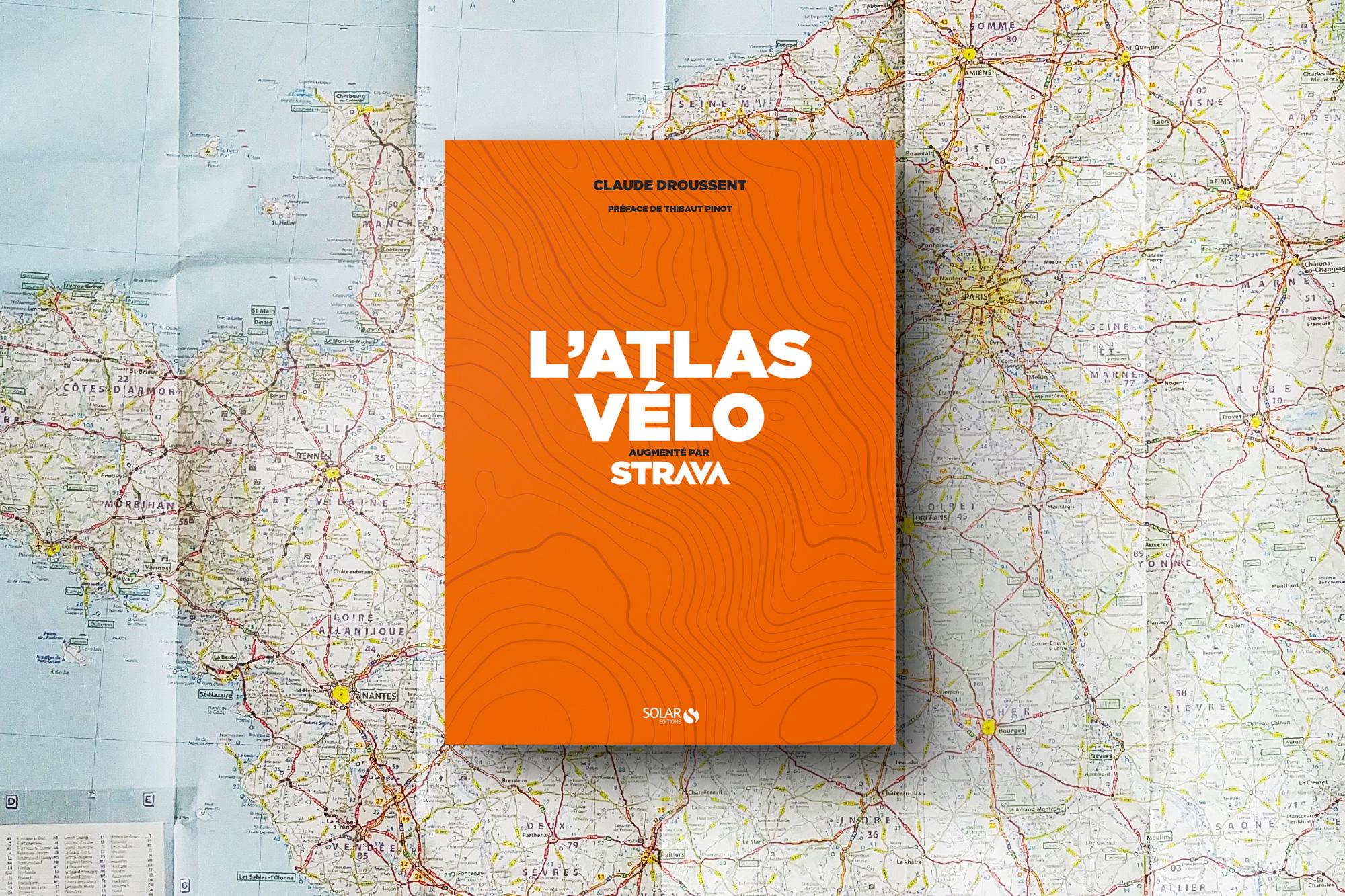 atlas vélo appli strava randonnée cyclotourisme