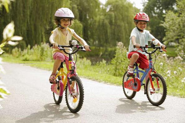 apprende le vélo développe l'intégration
