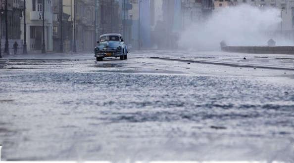 La montée du niveau des mers ferait perdre à Cuba 2700 km²