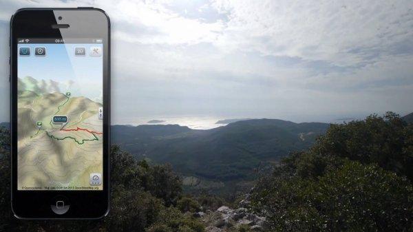 Applications pour randonnées à vélo : de nos cartes, à nos écrans