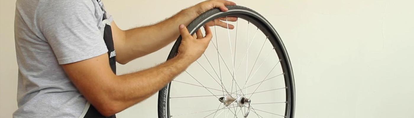 Comment réparer une chambre à air de vélo trouée ?