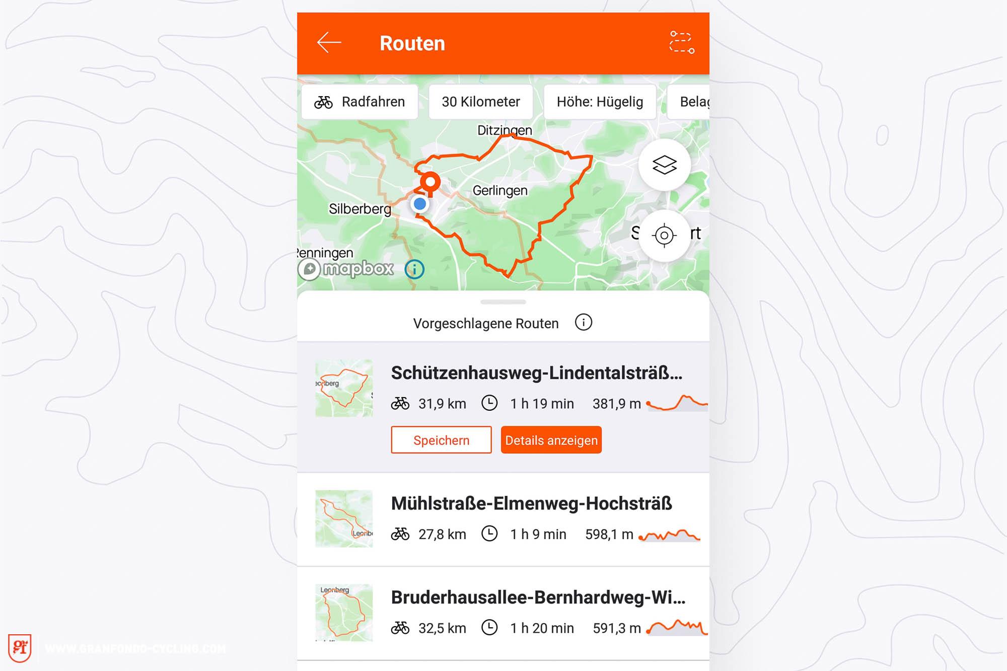 strava itinéraire vélo application smartphone