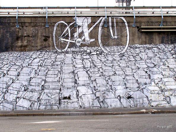 vélo contre voiture