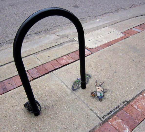 Quand l'art de la rue rencontre le véhicule urbain : le Street Art à vélo