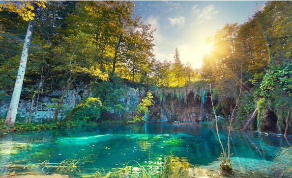 La Croatie à vélo : Les lacs de Plitvice